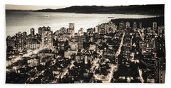 Passionate English Bay Mccclxxviii Beach Towel