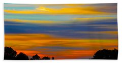 Pastel Sunrise Beach Sheet by Mark Blauhoefer