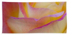 Beach Towel featuring the photograph Pastels by David Millenheft