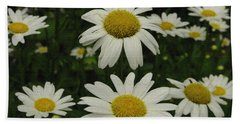 Patch Of Daisies Beach Towel