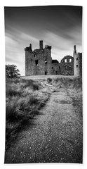 Path To Kilchurn Castle Beach Sheet by Dave Bowman