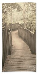 Pathway Beach Sheet by Melissa Petrey