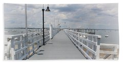 Pathway To The Clouds Beach Towel