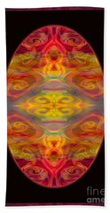 Peace And Harmony Abstract Healing Art Beach Towel