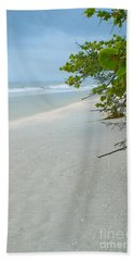 Peace And Quiet On Sanibel Island Beach Sheet