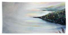 Beach Towel featuring the painting Peace by Meaghan Troup