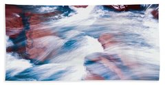 Peaceful Flow Beach Sheet by Kellice Swaggerty