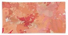 Peach Galore Beach Towel by Lourry Legarde