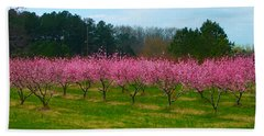 Peach Tree Grove By Jan Marvin Beach Sheet