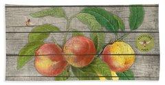 Peaches-jp2676 Beach Towel