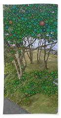 Dawn At Peaks Island Bay Beach Towel