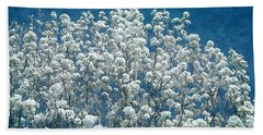 Pear Blossoms Beach Towel