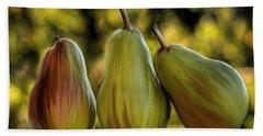 Pear Buddies Beach Sheet