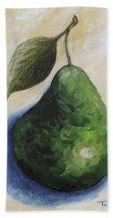 Pear In The Spotlight Beach Towel