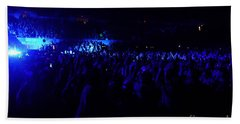 Pearl Jam Crowd Los Angeles Beach Towel