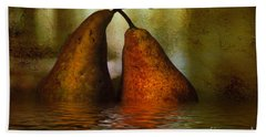 Pears In Water Beach Towel