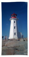 Peggy's Cove Lighthouse Beach Towel