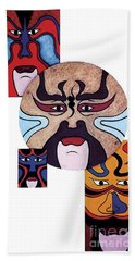Pekingopera No.2 Beach Towel