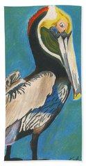 Pelican Blue Beach Towel