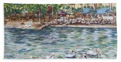Pelican Medley Beach Towel