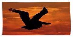 Pelican Profile Beach Sheet