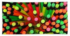 Pencil Blossom Beach Towel