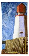 Pendlebury Lighthouse Beach Towel