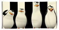 Penguins Of Madagascar Beach Sheet