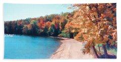 Pennsylvania Autumn 001 Beach Towel