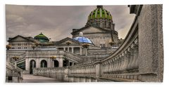 Pennsylvania State Capital Beach Towel