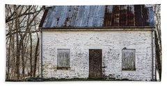 Pennyfield Lockhouse On The C And O Canal In Potomac Maryland Beach Towel