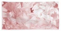 Peony Pink Beauty Beach Towel