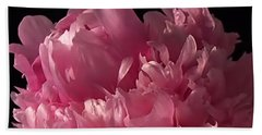 Beach Towel featuring the photograph Peony by Rona Black