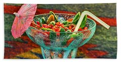 Beach Towel featuring the photograph Pepperita by Gary Holmes