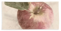 Beach Sheet featuring the photograph Perfect Apple by Photographic Arts And Design Studio