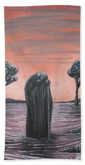 Perils Of Perdition Beach Towel by Michael  TMAD Finney
