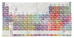 Periodic Table Of The Elements Beach Sheet