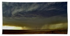 Perryton Supercell Beach Towel by Ed Sweeney