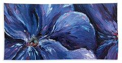 Beach Towel featuring the painting Persevering Hope by Meaghan Troup