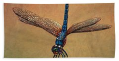 Pet Dragonfly Beach Towel