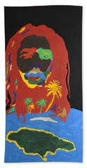 Peter Tosh Bush Doctor Beach Towel by Stormm Bradshaw