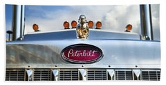Peterbilt Beach Sheet by Theresa Tahara