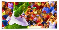 Phanatic In Action Beach Sheet