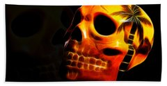 Phantom Skull Beach Towel