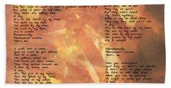 Phenomenal Woman -golden Stars Beach Sheet