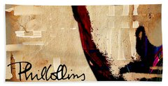 Phil Collins Collection Beach Towel