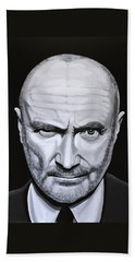 Phil Collins Beach Towel
