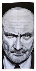 Phil Collins Beach Sheet by Paul Meijering