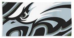 Philadelphia Eagles Football Beach Sheet