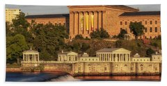 Philadelphia Museum Of Art Beach Towel